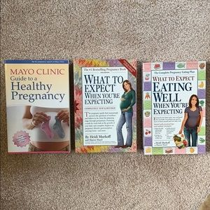 Pregnancy books - never been opened